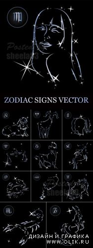 Zodiac Signs Full Collection