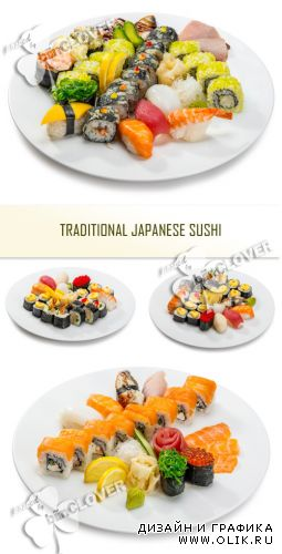 Traditional Japanese sushi 0368