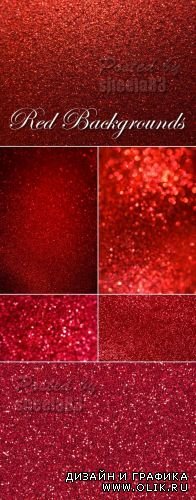 Stock Photo - Red Sparkling Backgrounds