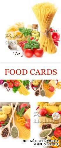 Stock Photo - Food Cards