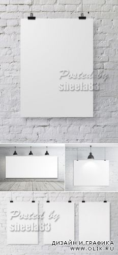 Stock Photo - Blank Boards