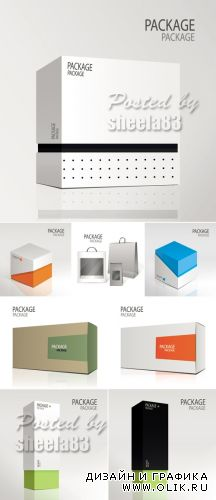 Package Design Vector