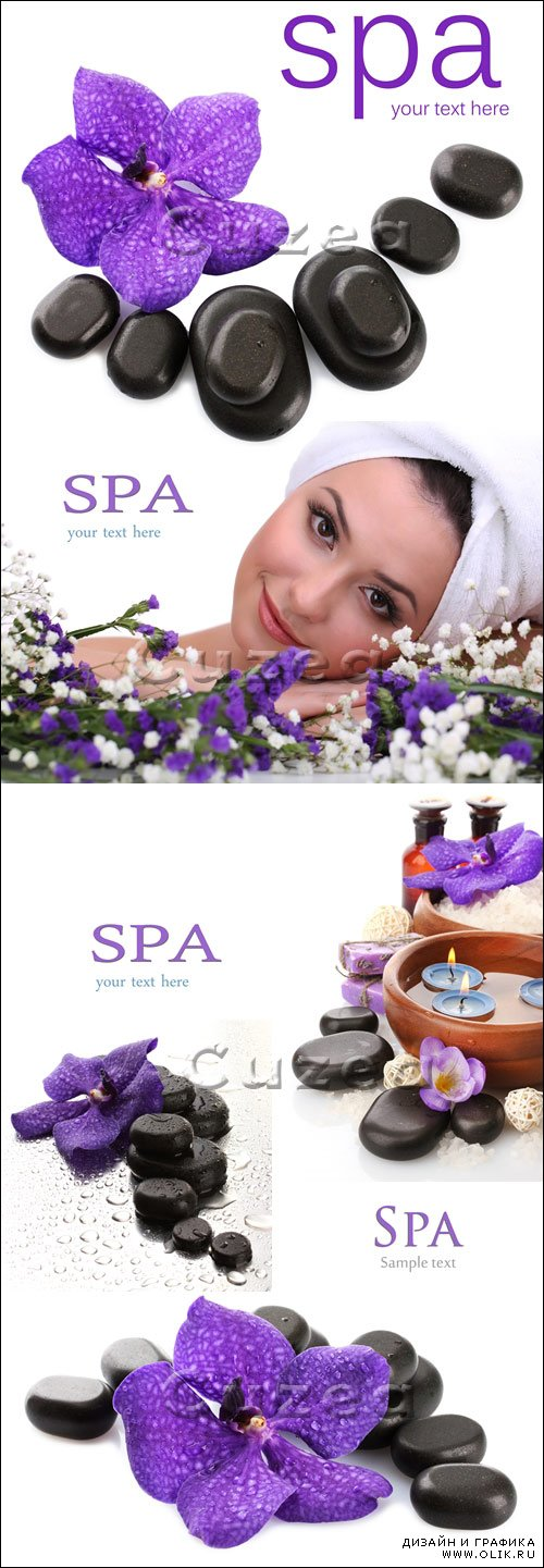 Спа / Spa accesories for woman - Stock photo