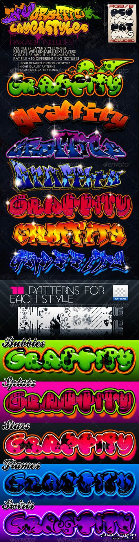 Graffiti Styles for Photoshop