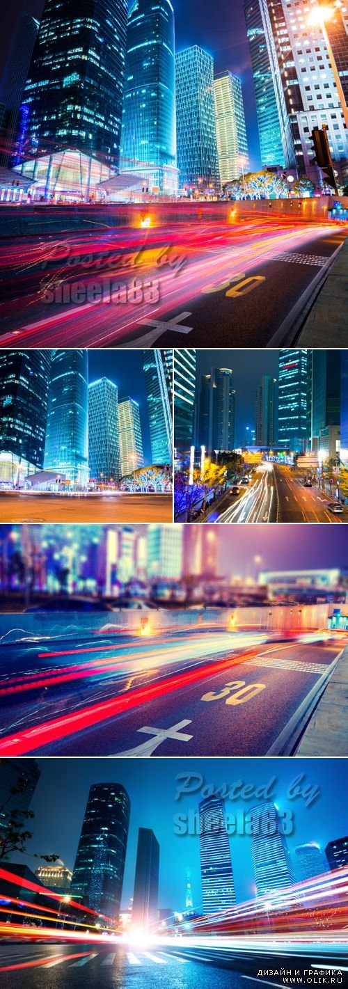 Stock Photo - Night City Lights 3