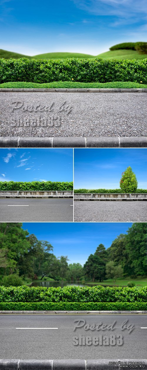 Stock Photo - Roadside View