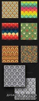 Seamless Patterns Vector Pack 163