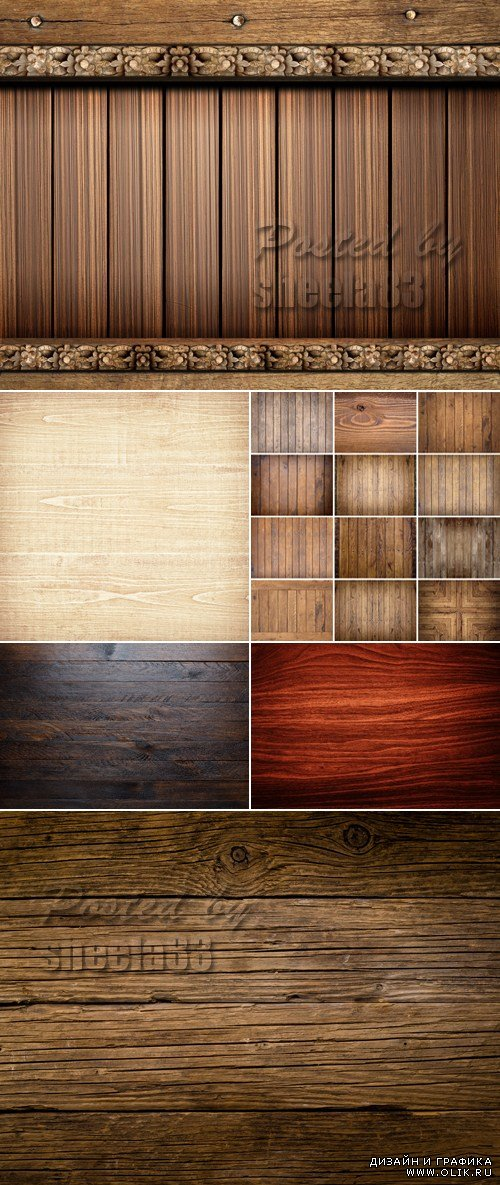 Stock Photo - High Quality Wooden Backgrounds