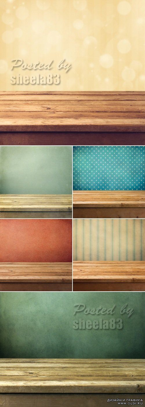 Stock Photo - Grunge Wall Backgrounds