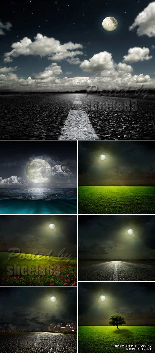 Stock Photo - Moonlight