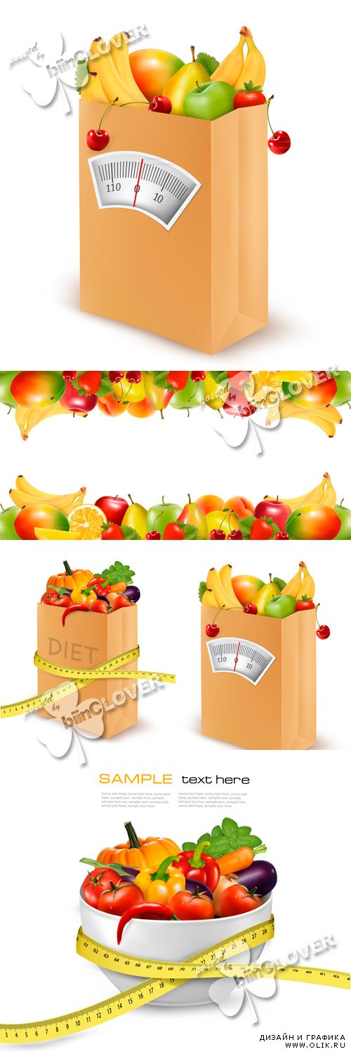 Concept of vegetables  and fruits diet 0452