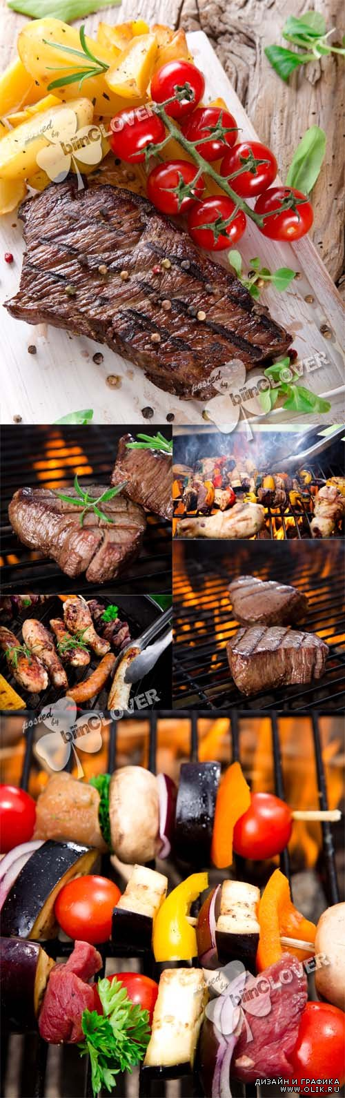 Grilled meat 0475