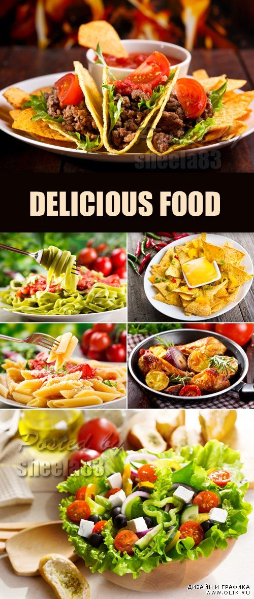 Stock Photo - Delicious Food