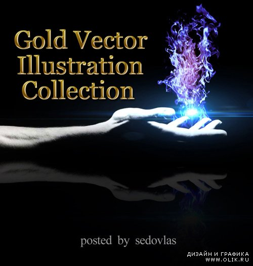 Gold Vector Illustration Collection
