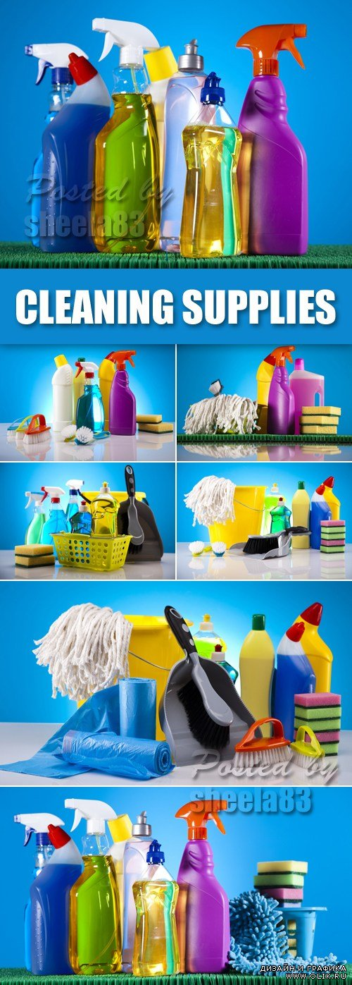 Stock Photo - Cleaning Supplies
