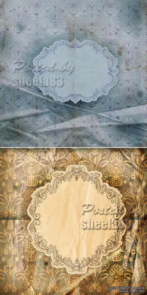 Vintage Paper Backgrounds Vector