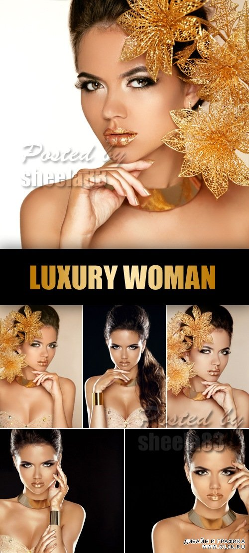 Stock Photo - Luxury Attractive Woman