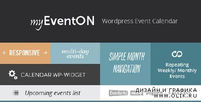 CC - EventOn v2.1.15 - WordPress Event Plugin