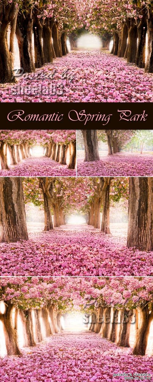 Stock Photo - Romantic Spring Park