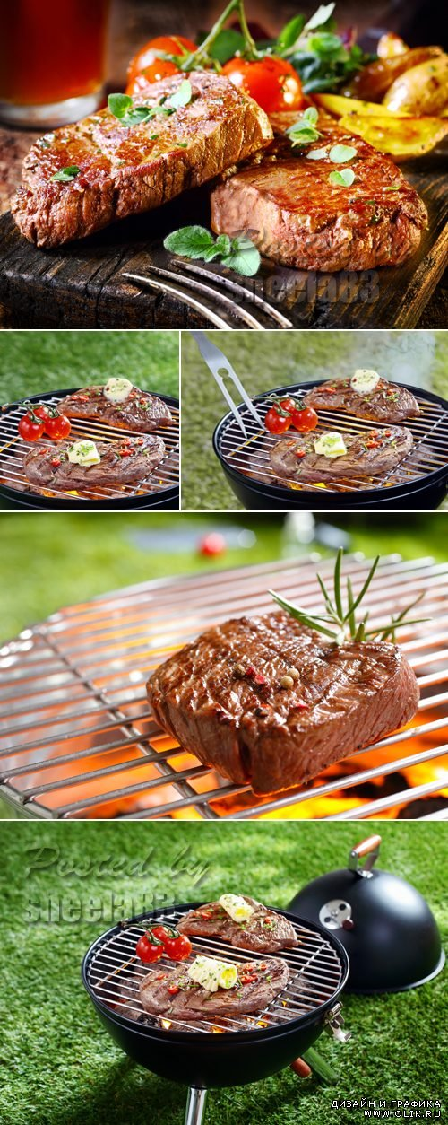 Stock Photo - Tasty Grilled Meat