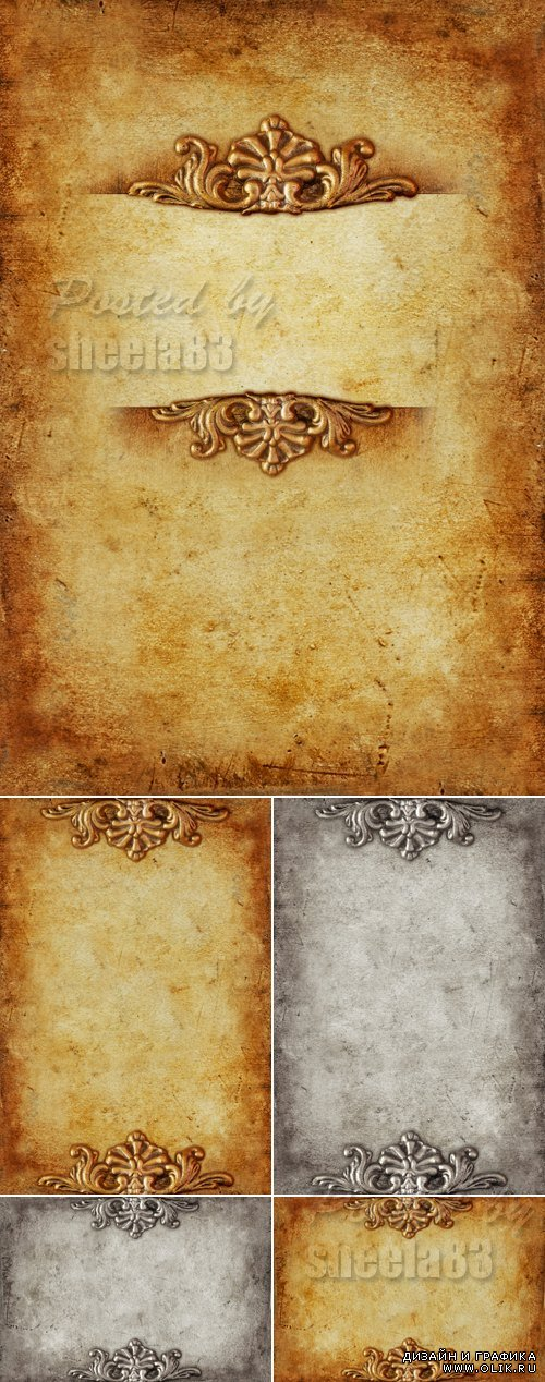 Stock Photo - Vintage Paper Backgrounds 3