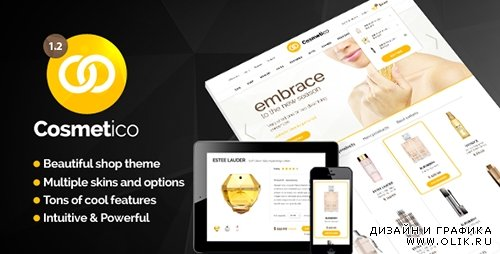TF - Cosmetico v1.0 - Responsive eCommerce WordPress Theme