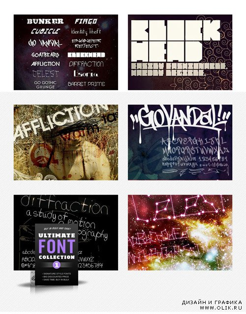 Ultimate Font Collection 01