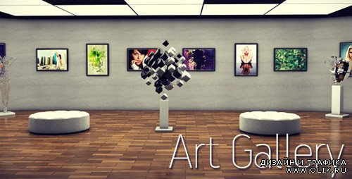 Art Gallery - Project for After Effects