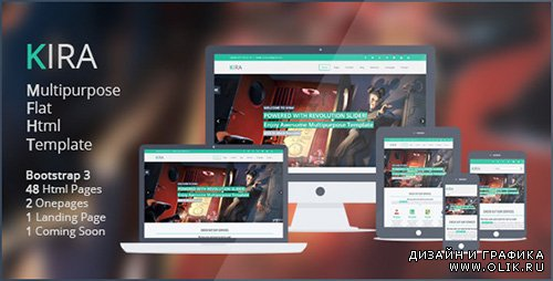 TF - Kira Multipurpose Flat Html5 Template - RIP