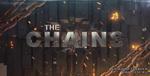 Chains Element 3D Title Sequence - Project for After Effects