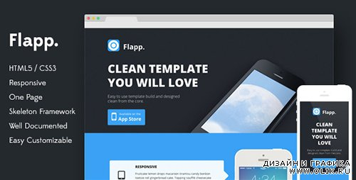 TF - Flapp - One Page Responsive Landing Page - RIP