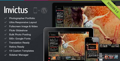 TF - Invictus v3.0.32 - A Premium Photographer Portfolio Theme