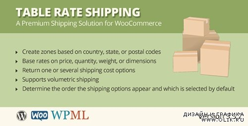 CC - Table Rate Shipping v3.3.1 for WooCommerce