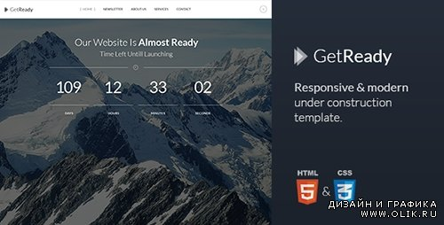 TF - GetReady - Responsive Under Construction Template - RIP
