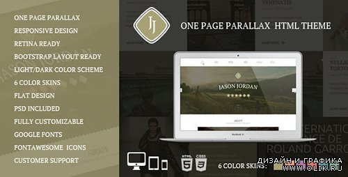 TF - JJ - One Page Parallax HTML Theme - RIP