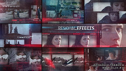 Residual Effects - Movie Opening Titles - Project for After Effects