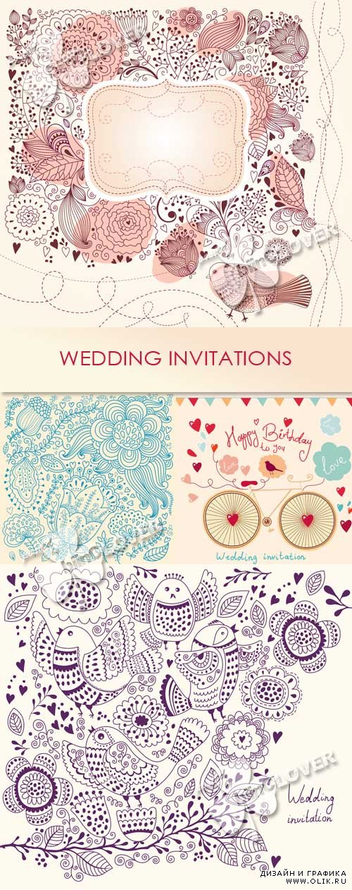 Wedding invitations 0543