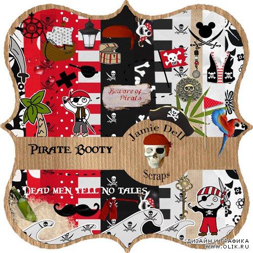 Scrap Kit - Pirate Booty