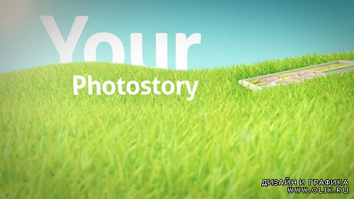Photos On Grass - Project for After Effects