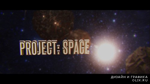 Project: Space - Project for After Effects