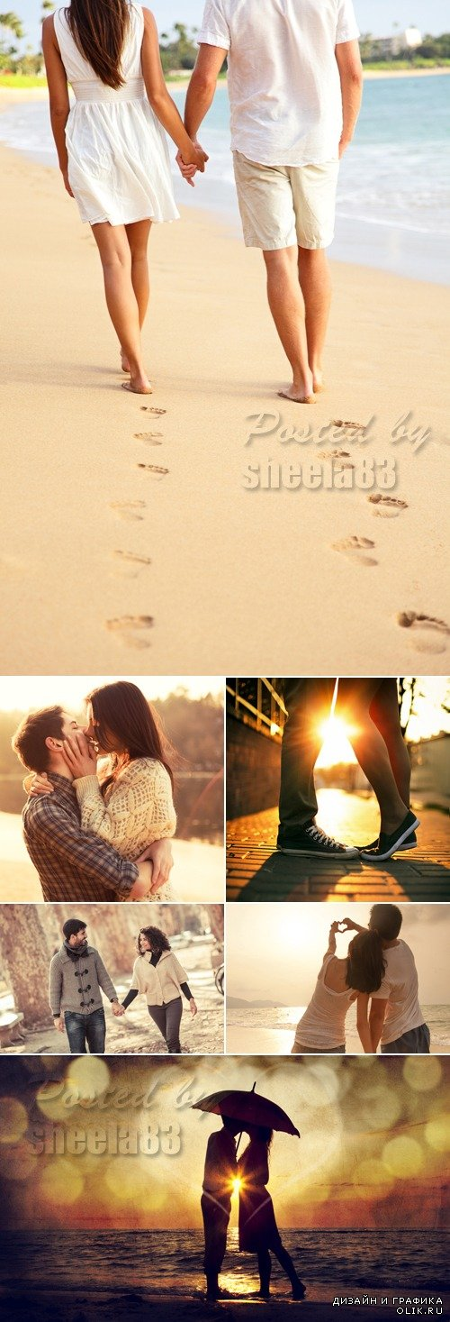 Stock Photo - Romantic Couples