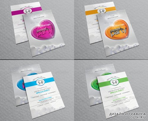 GraphicRiver - Special Party Invitation Cards - 6592144