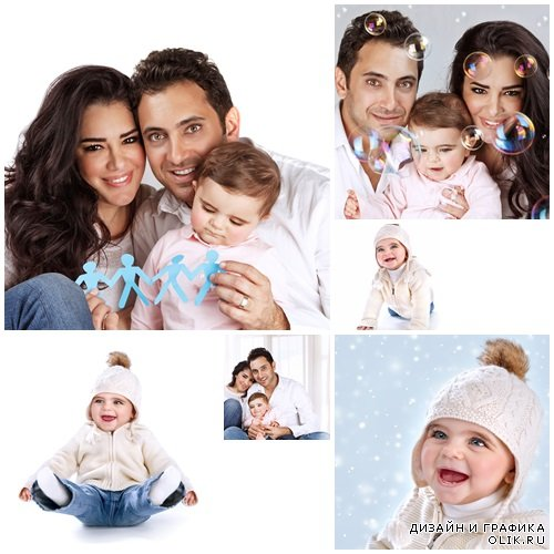 Family togetherness concept - stock photo