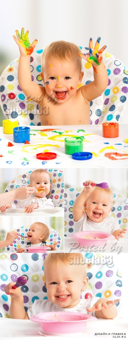 Stock Photo - Cute Baby