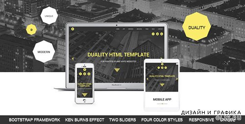 TF - Duality - Portfolio and Apps HTML5 Template - RIP