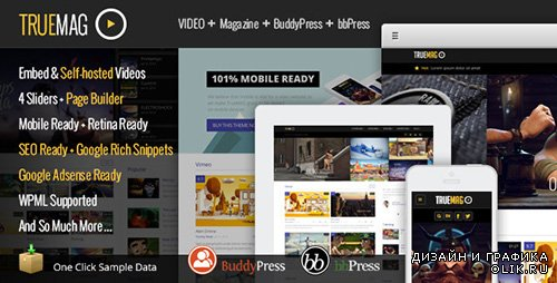 TF - True Mag v1.0 - WordPress Theme for Video and Magazine