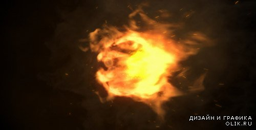 Fire Logo Reveal 4803849 - Project for After Effects