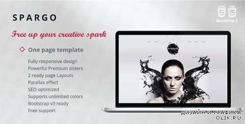 TF - Spargo - Responsive Single Page Template - RIP