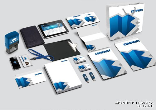 Corporate Identity Mockup Template Part 2 PSD