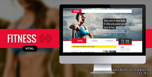 TF - Fitness Responsive HTML Template - RIP